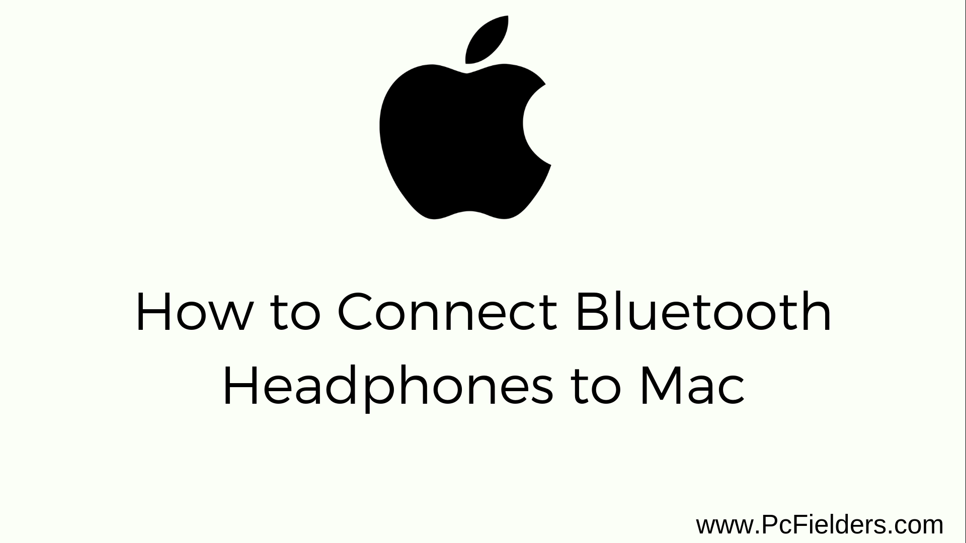 Connect Bluetooth to Mac