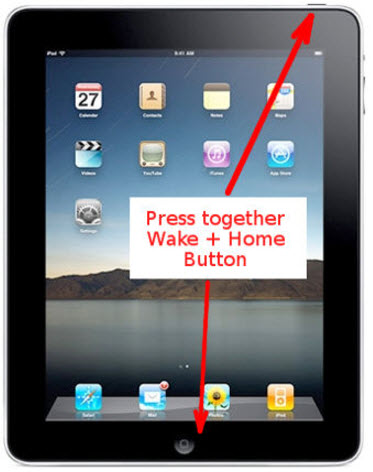 iPad Reset without iTunes