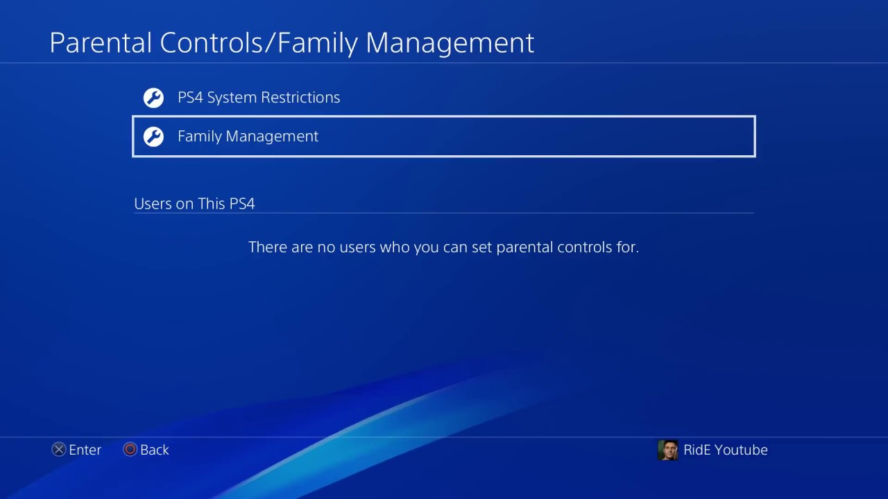 How to delete psn account on ps4