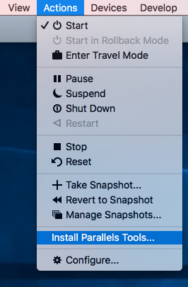 Uninstall parallels mac management