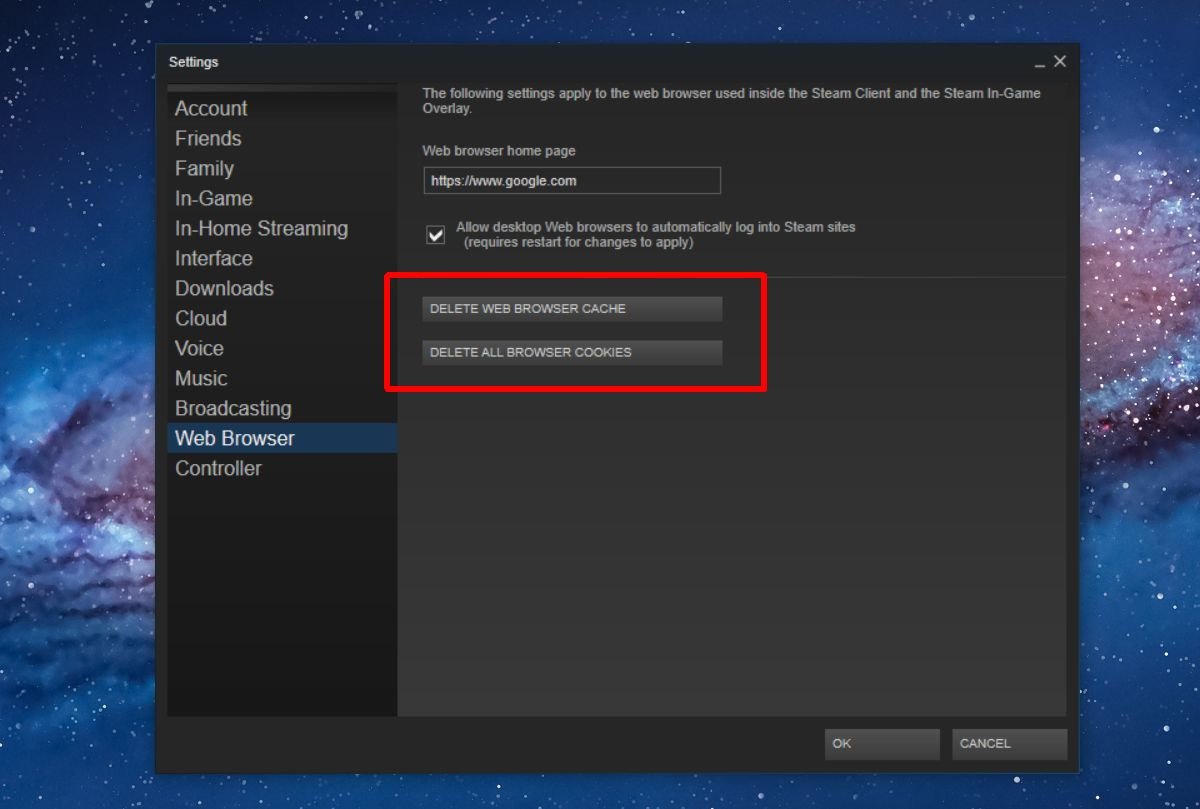 Steam can't connect to friends network 2021