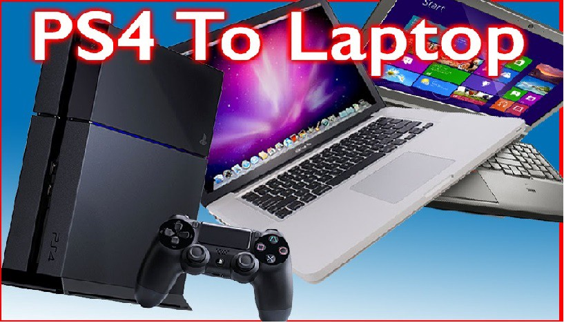 how to use laptop as monitor in ps4