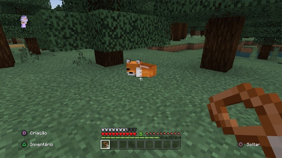 foxes in minecraft ps4