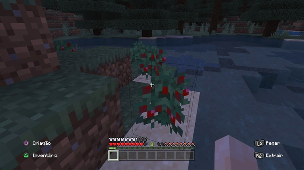 foxes in minecraft eat