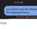 verizon error 31 other network problem