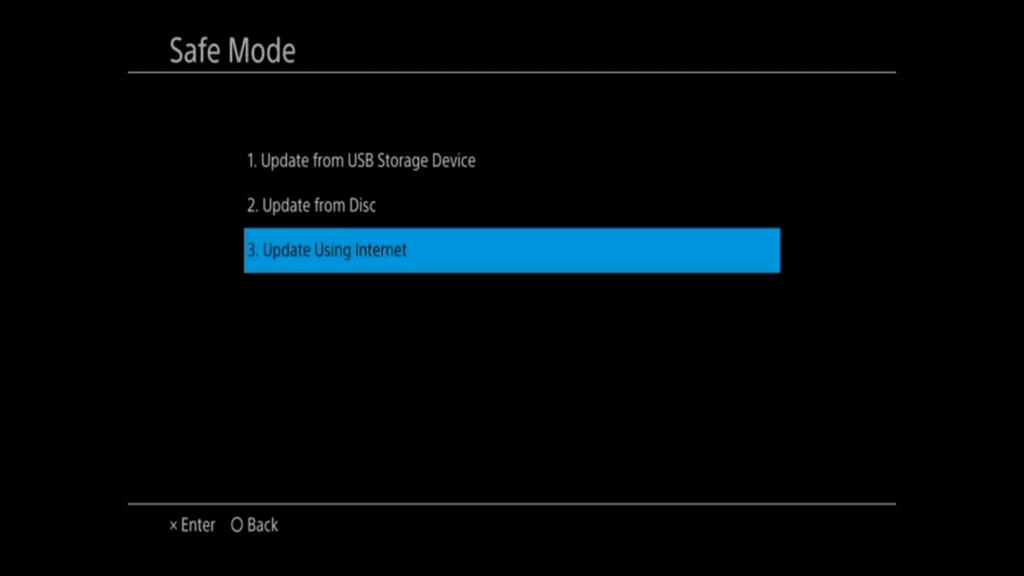 PS4 7.50 update fix