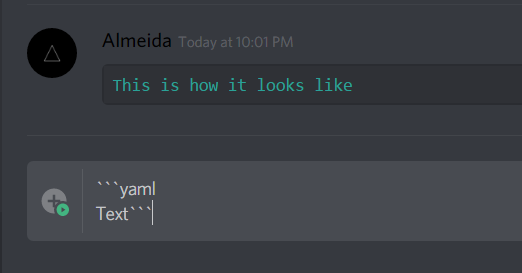 how to cross out text in discord