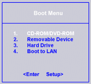 How to fix reboot and select proper boot device error