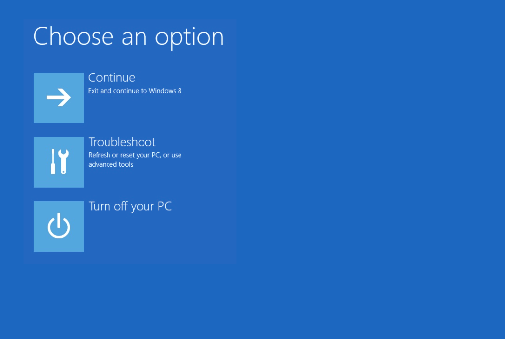 Windows reboot and select proper boot device fix