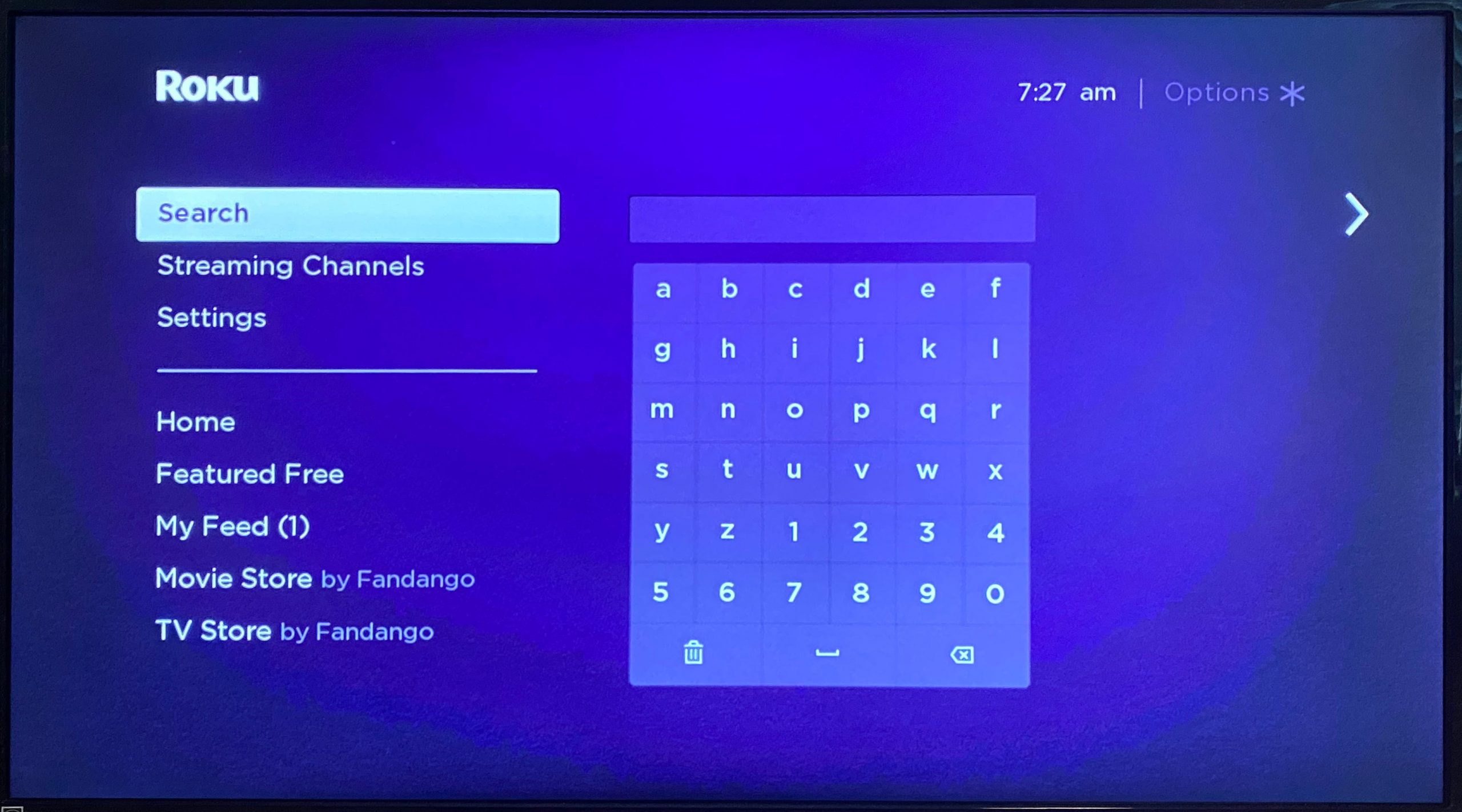 how to watch college football on roku