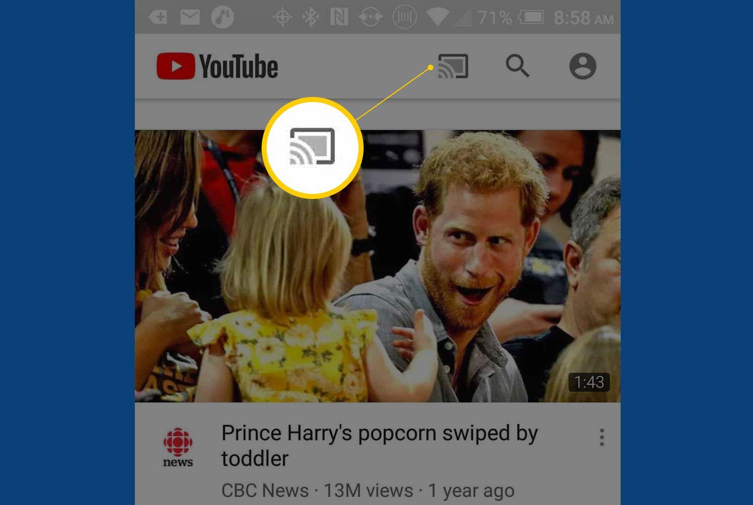 how to put youtube tv on roku